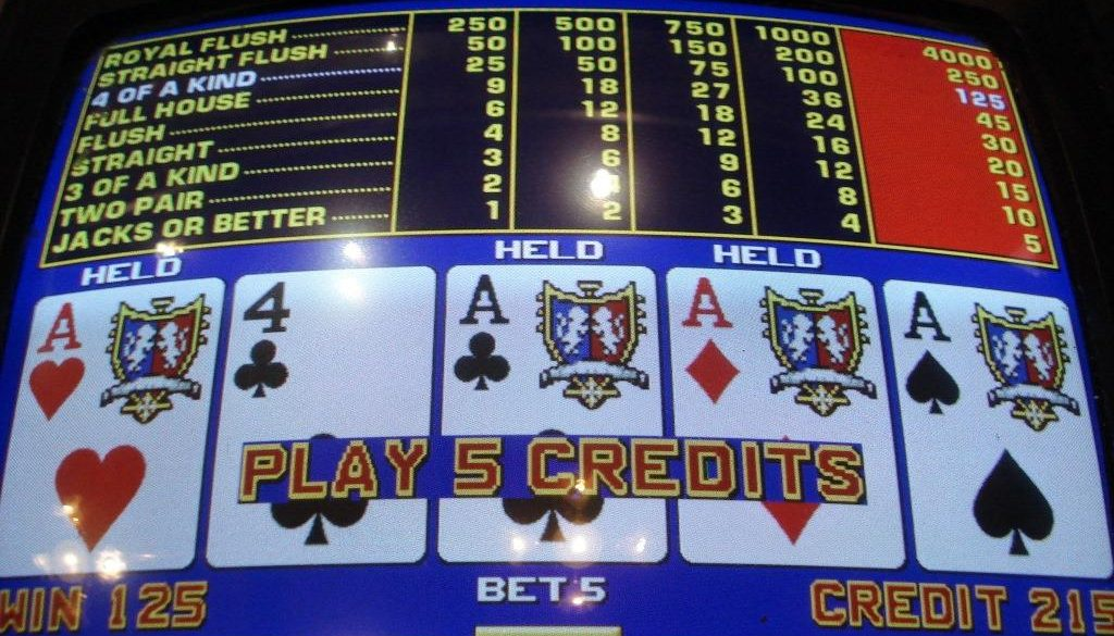 Cara Bermain Video Poker